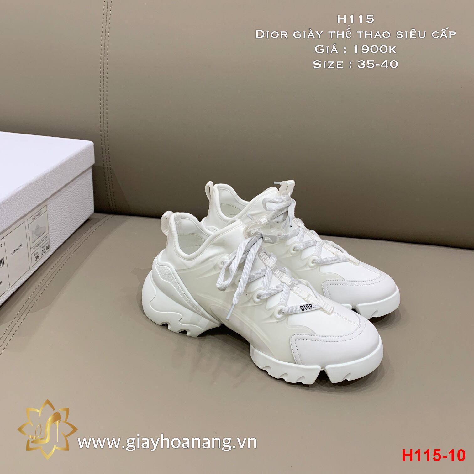 H115-10 Dior giày thể thao siêu cấp