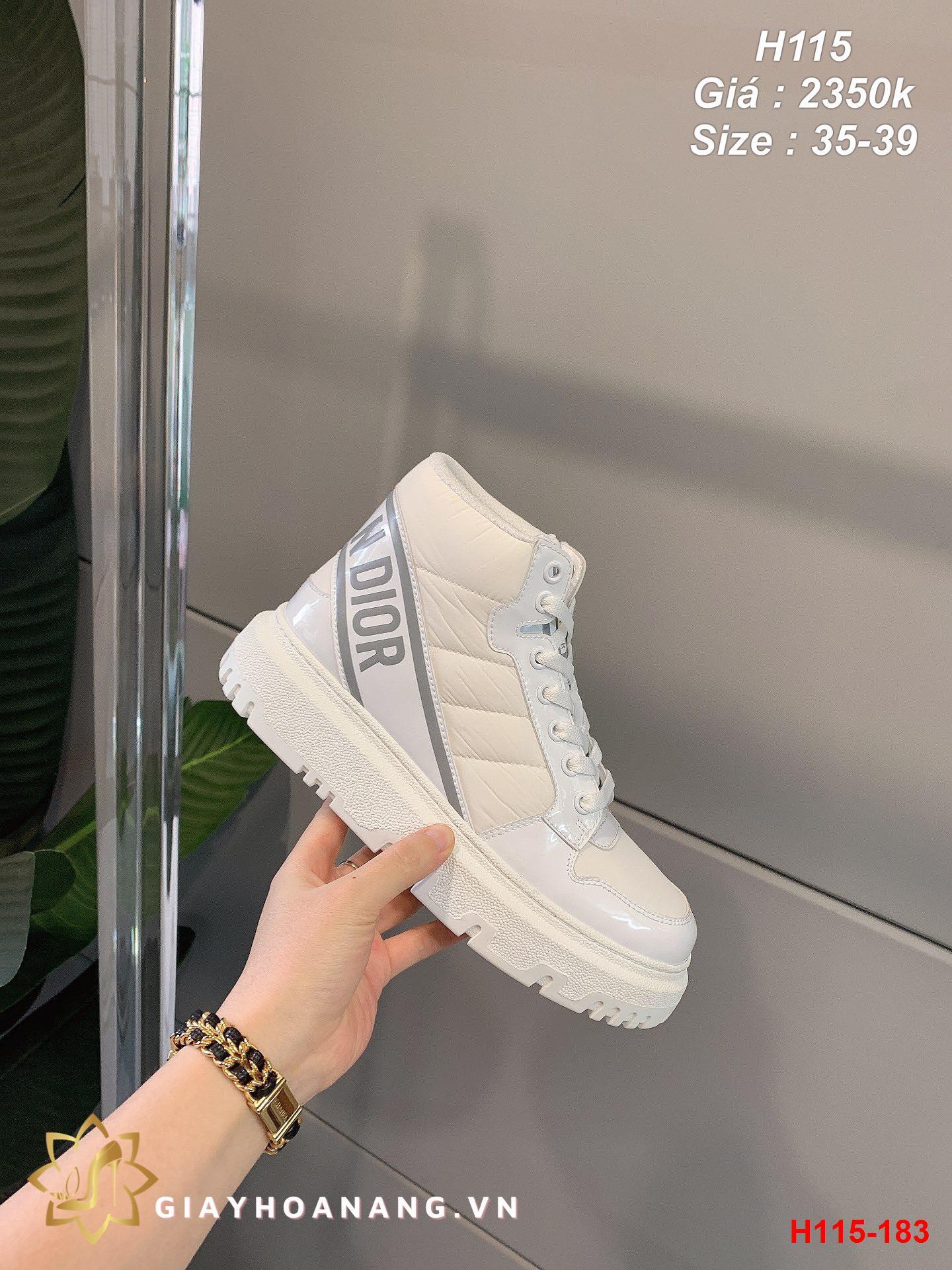 H115-183 Dior giày thể thao siêu cấp