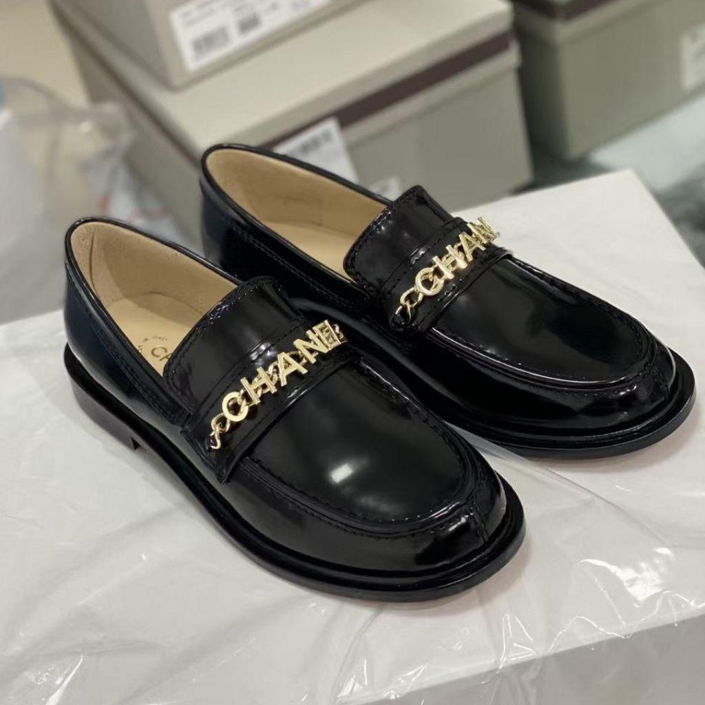 H140-4 Chanel giày lười siêu cấp