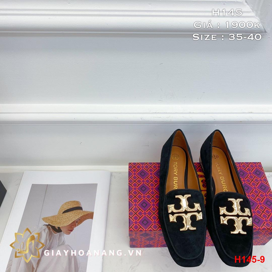 H145-9 Tory Burch giày lười siêu cấp