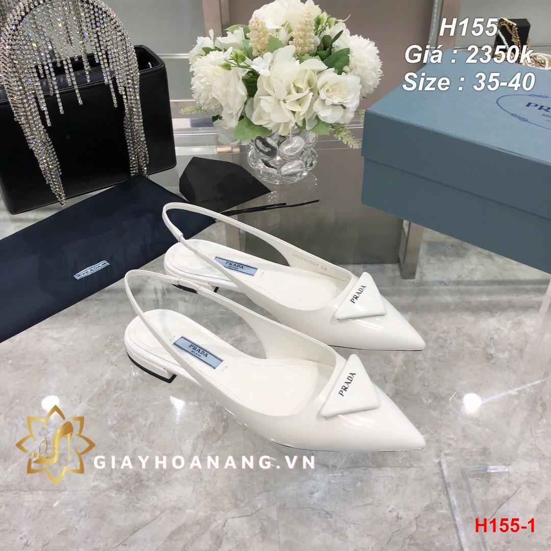 H155-1 Prada sandal siêu cấp