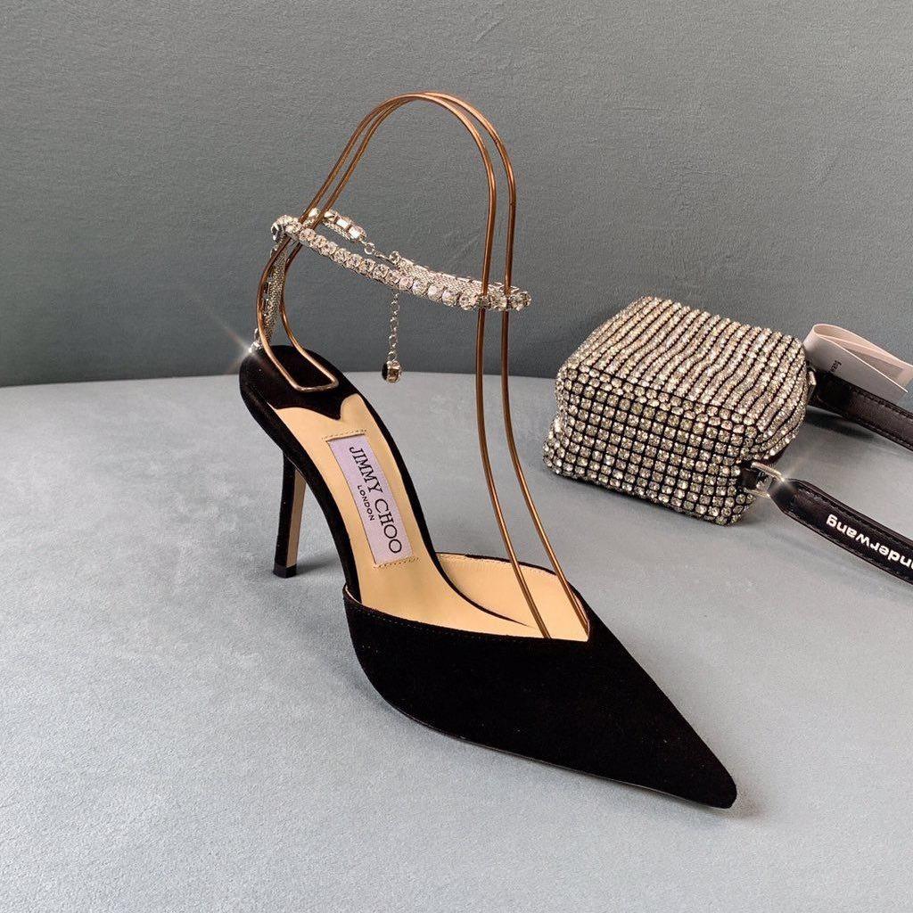 H28-147 Jimmy Choo sandal cao 9cm siêu cấp