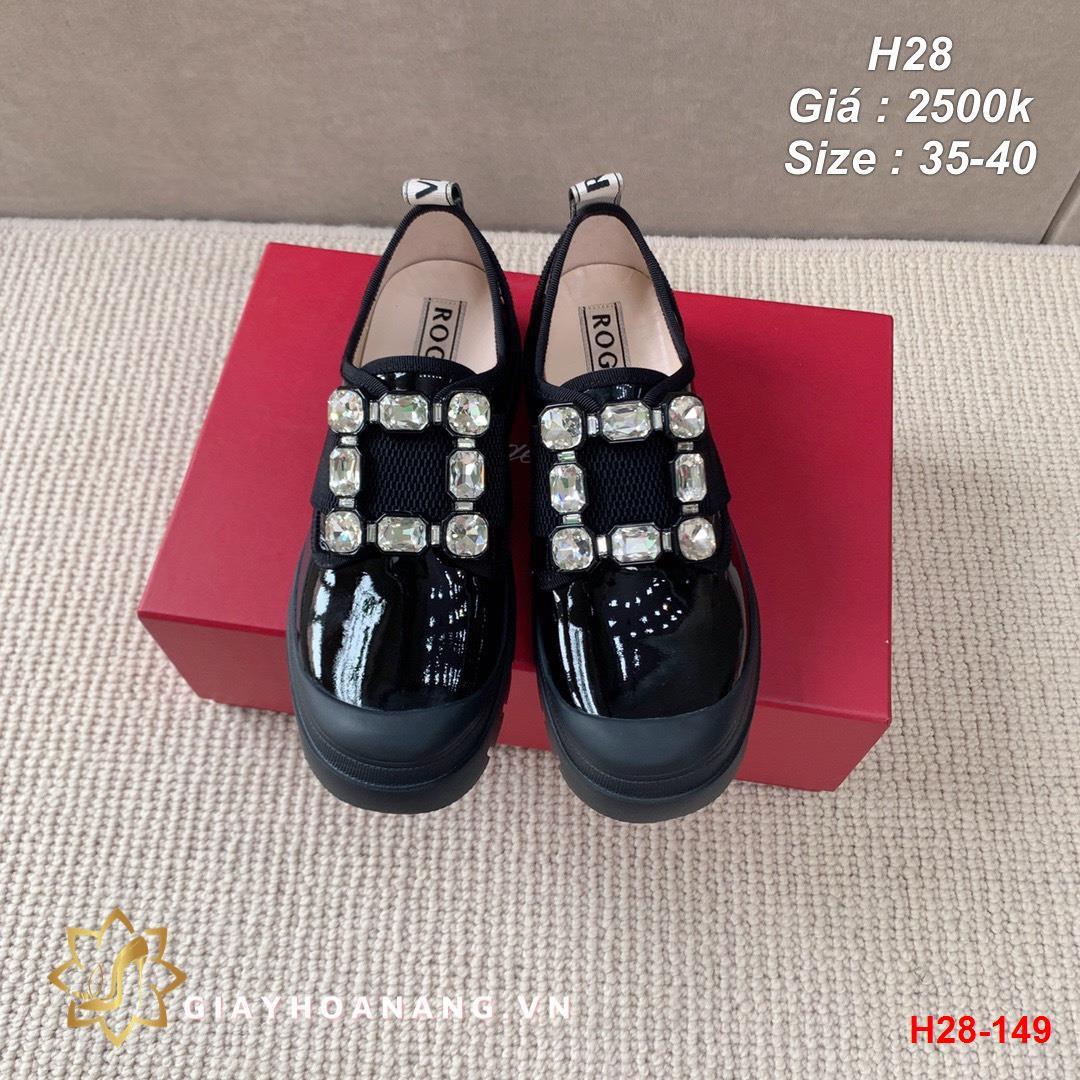 H28-149 Roger Vivier giày lười siêu cấp