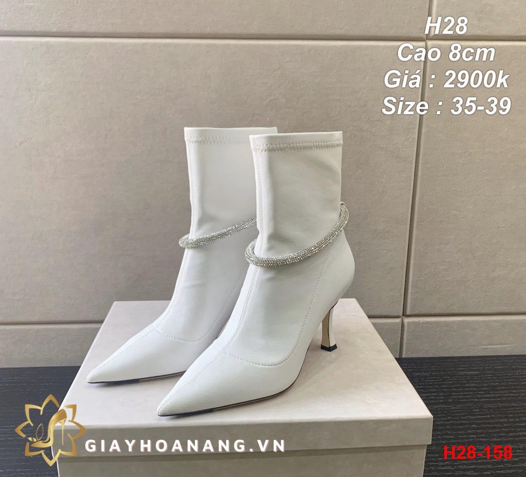 H28-158 Jimmy Choo bốt cao 8cm siêu cấp
