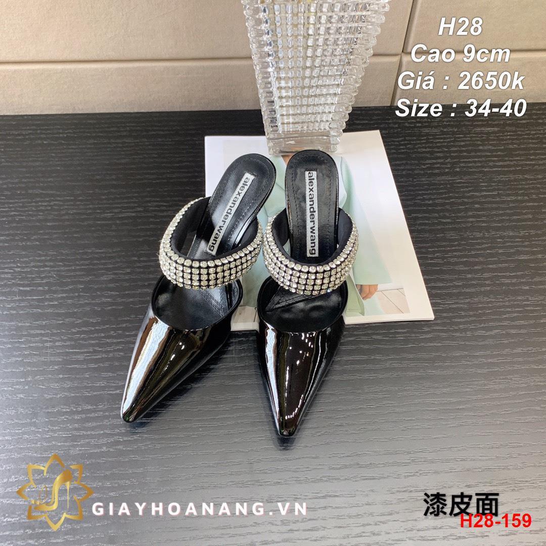 H28-159 Alexander Wang sandal cao 9cm siêu cấp