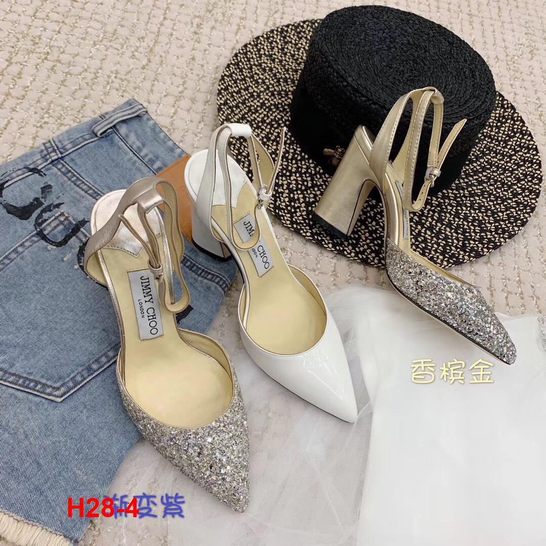 H28-4 Jimmy Choo sandal cao 8cm siêu cấp