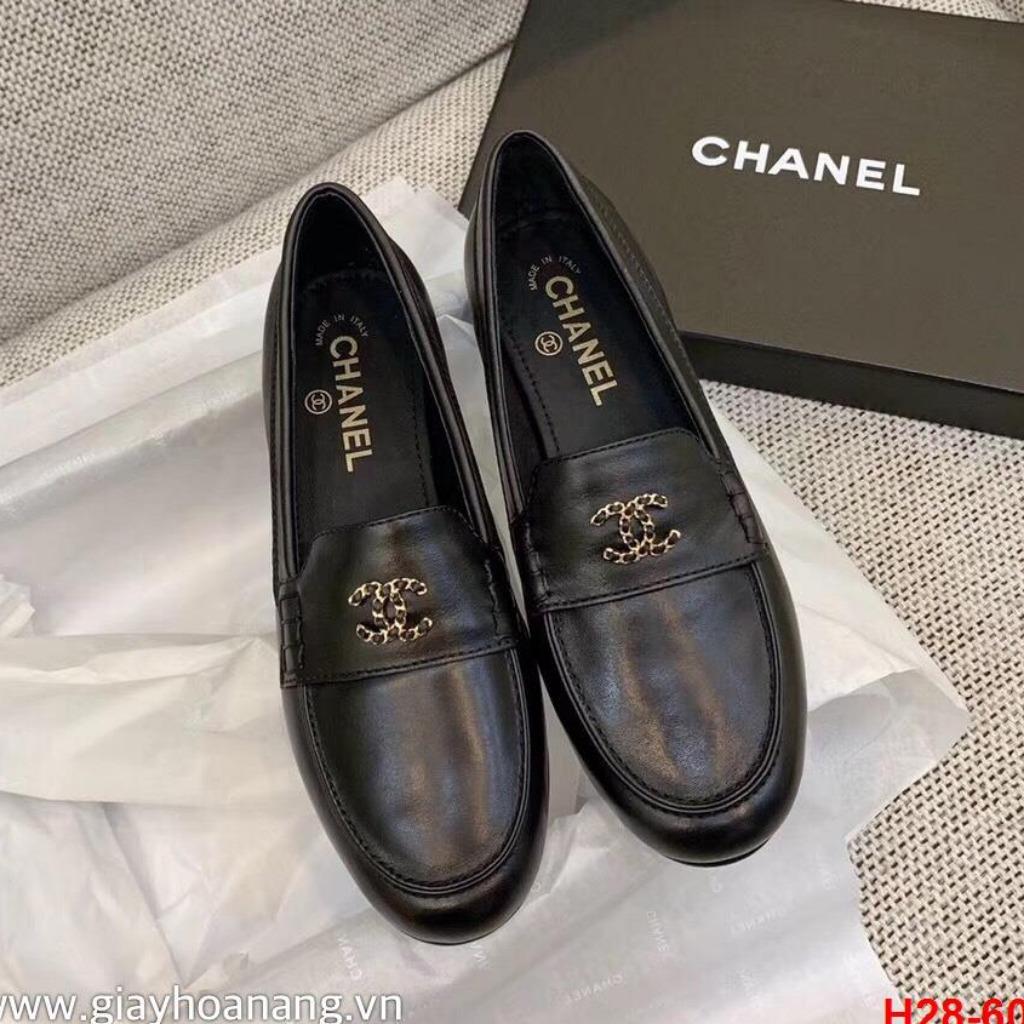 H28-60 Chanel giày lười siêu cấp
