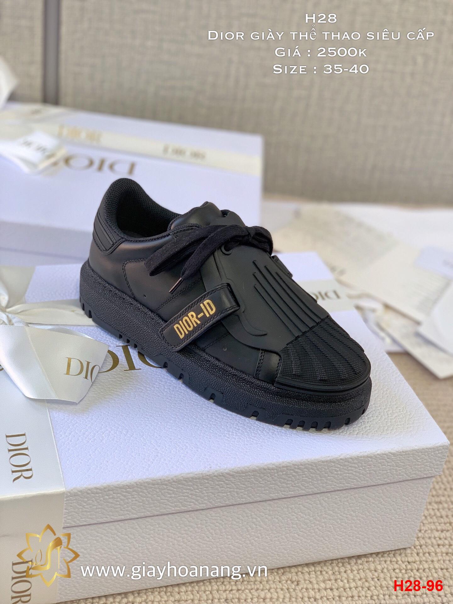H28-96 Dior giày thể thao siêu cấp