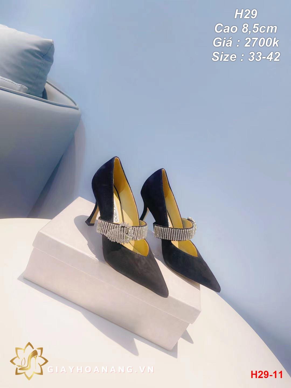 H29-11 Jimmy Choo giày cao 8,5cm siêu cấp