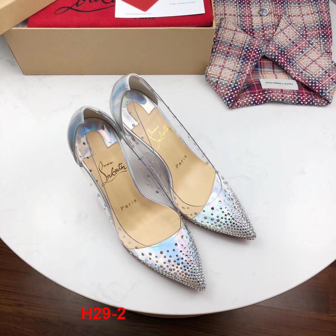 H29-2 Louboutin giày cao 6cm, 8cm siêu cấp