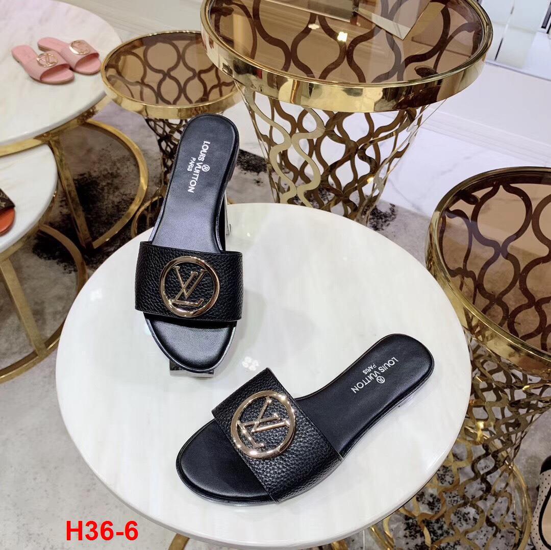 H36-6 Louis Vuitton dép bệt siêu cấp
