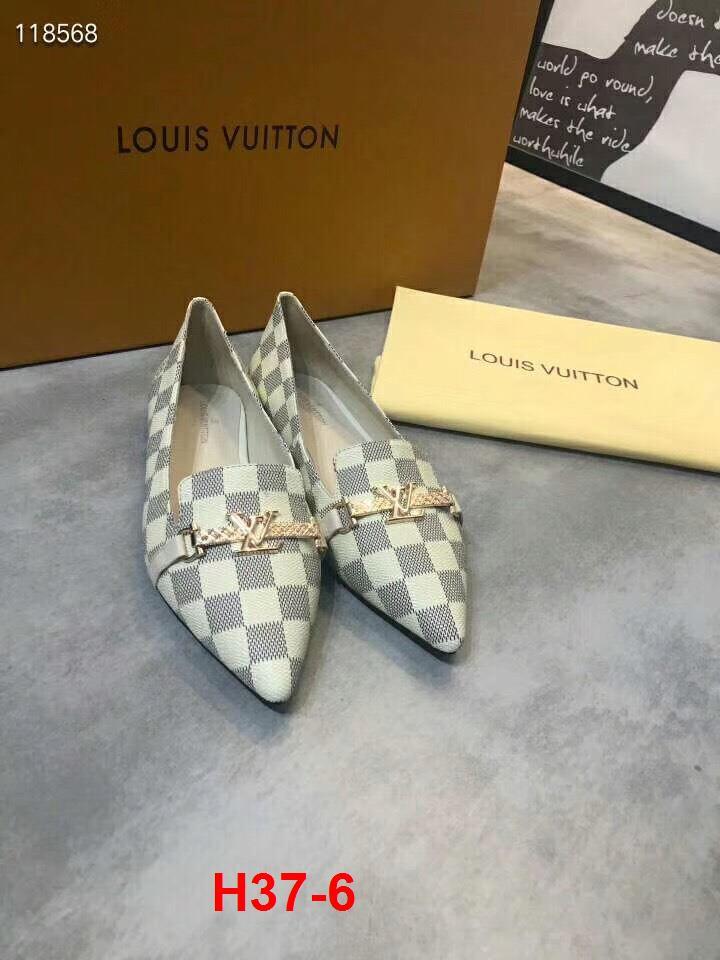 H37-6 Louis Vuitton giày bệt siêu cấp