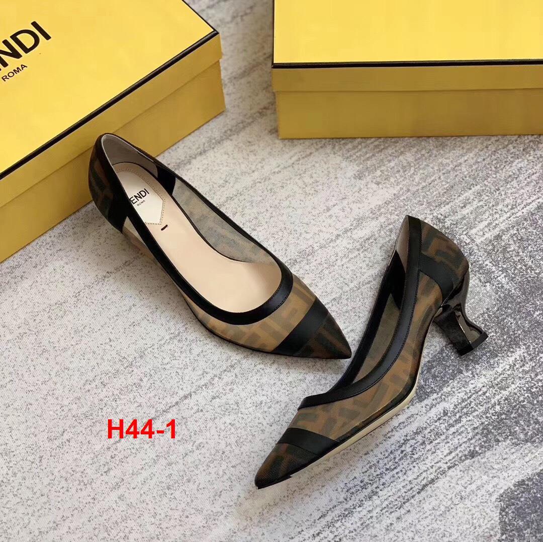 H44-1 Fendi giày cao 5cm siêu cấp