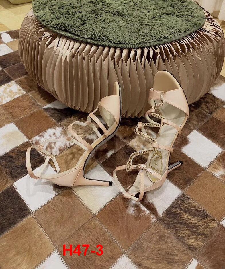 H47-3 Rene Caovilla sandal cao 9cm siêu cấp