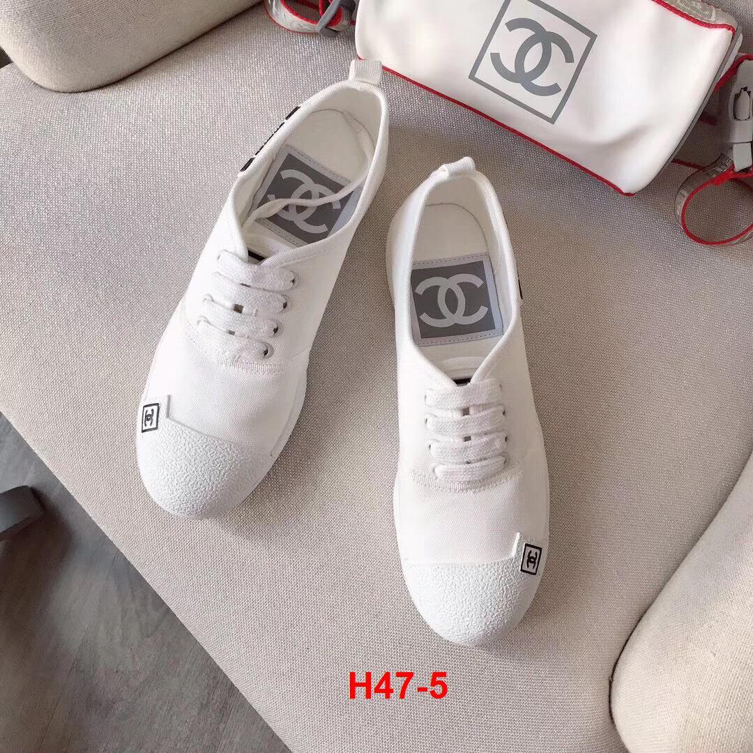 H47-5 Chanel giày thể thao siêu cấp