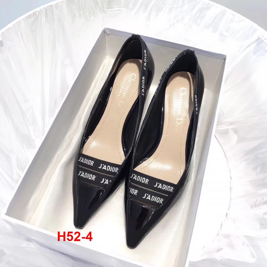 H52-4 Dior giày cao 6cm, 9cm siêu cấp
