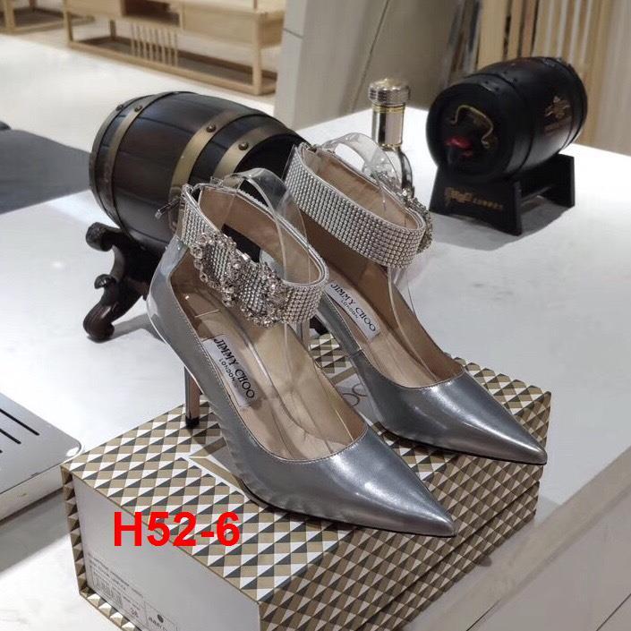 H52-6 Jimmy Choo giày cao 9cm siêu cấp