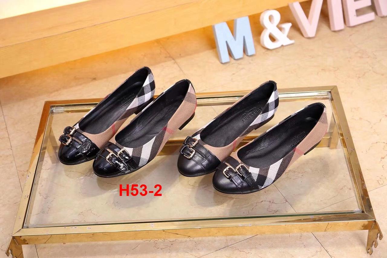 H53-2 Burberry giày bệt siêu cấp
