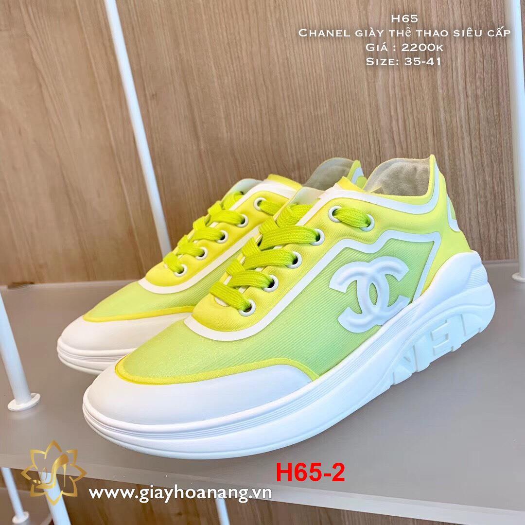 H65-2 Chanel giày thể thao siêu cấp