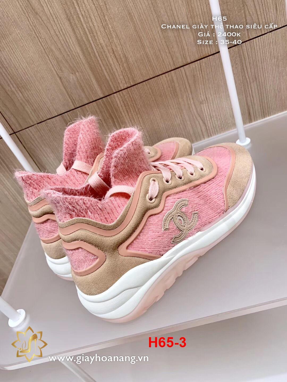 H65-3 Chanel giày thể thao siêu cấp