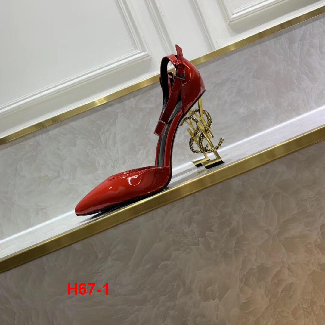 H67-1 Yves Saint Laurent YSL sandal cao 10cm siêu cấp