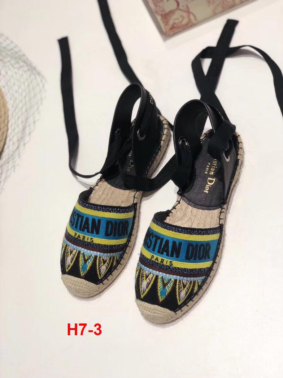 H7-3 Dior sandal bệt siêu cấp
