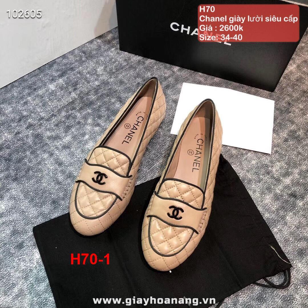 H70-1 Chanel giày lười siêu cấp