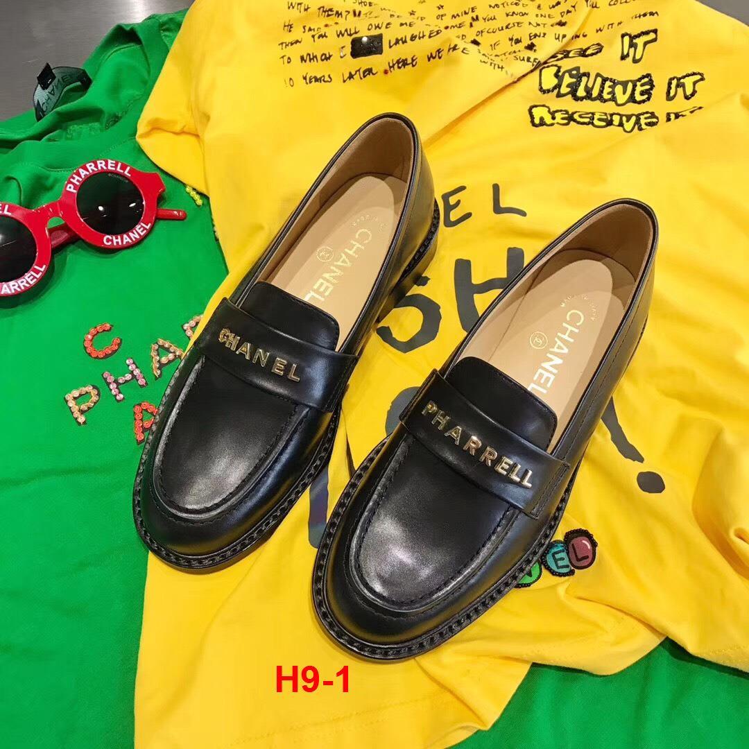 H9-1 Chanel giày lười siêu cấp