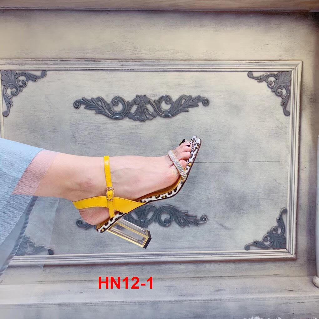 HN12-1 Hoa Nắng sandal cao 7,5cm