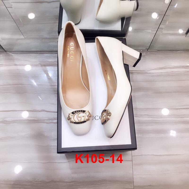 K105-14 Gucci giày cao 5cm siêu cấp