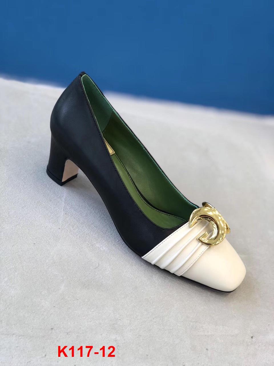 K117-12 Gucci giày cao 6cm siêu cấp