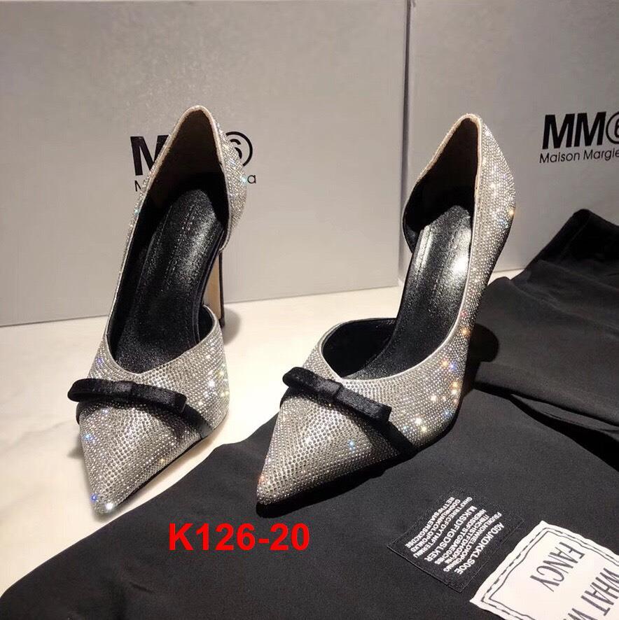 K126-20 Marco de Vincenzo giày cao 9cm siêu cấp