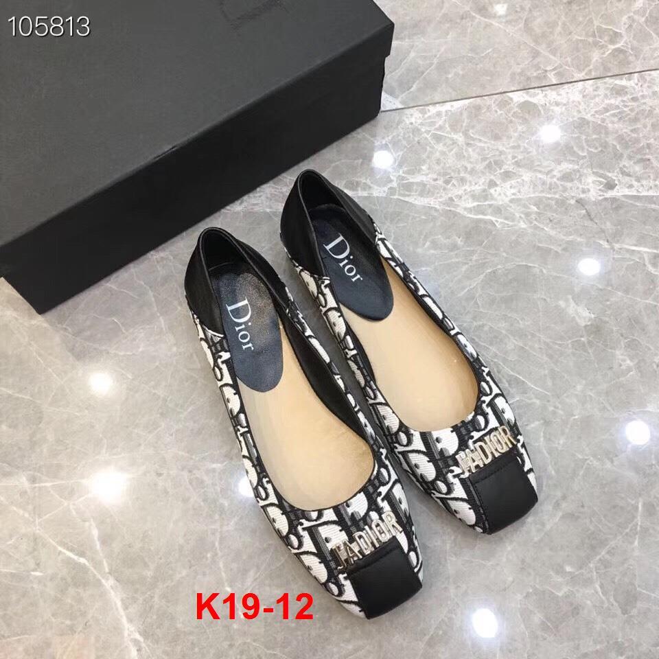 K19-12 Dior giày bệt siêu cấp