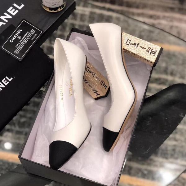 K27-16 Chanel giày cao 9cm siêu cấp
