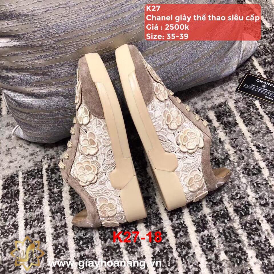 K27-18 Chanel giày thể thao siêu cấp