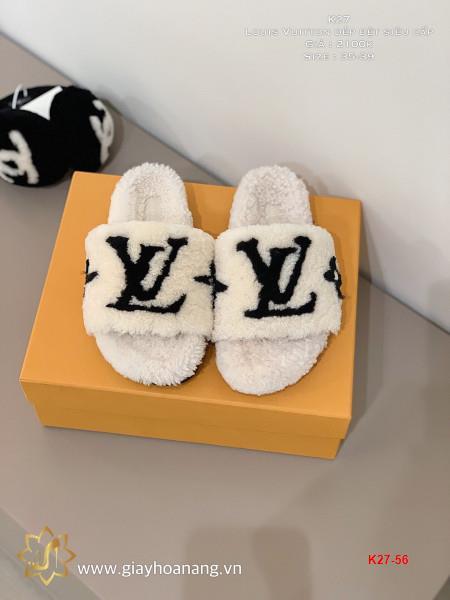 K27-56 Louis Vuitton dép bệt siêu cấp
