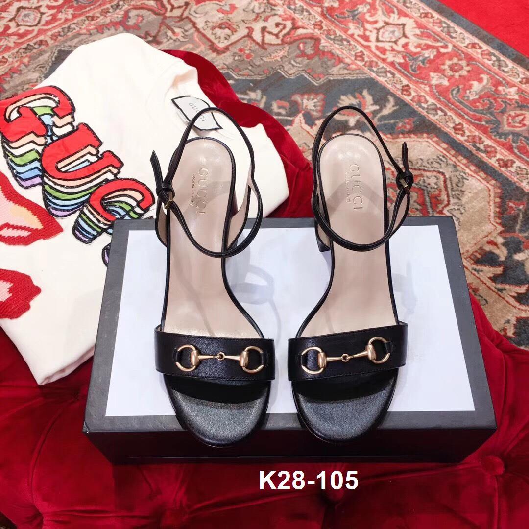 K28-105 Gucci sandal cao 8cm siêu cấp