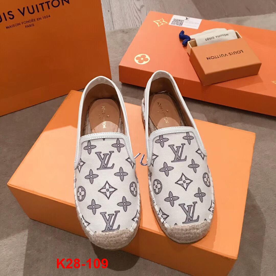 K28-109 Louis Vuitton giày lười siêu cấp