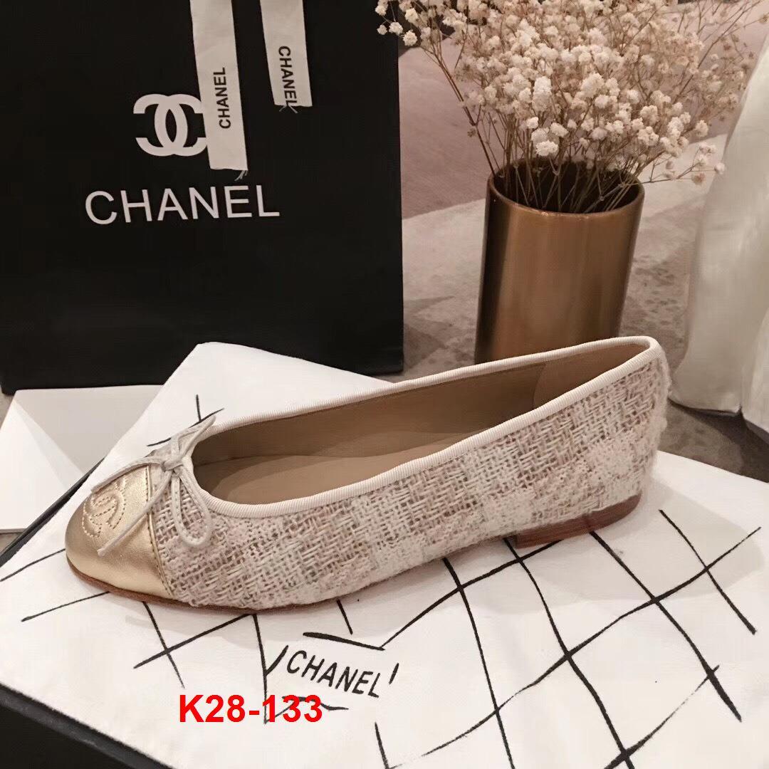 K28-133 Chanel giày bệt siêu cấp