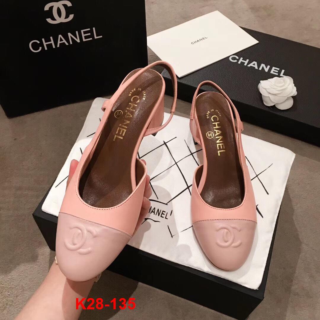 K28-135 Chanel sandal cao 5cm siêu cấp