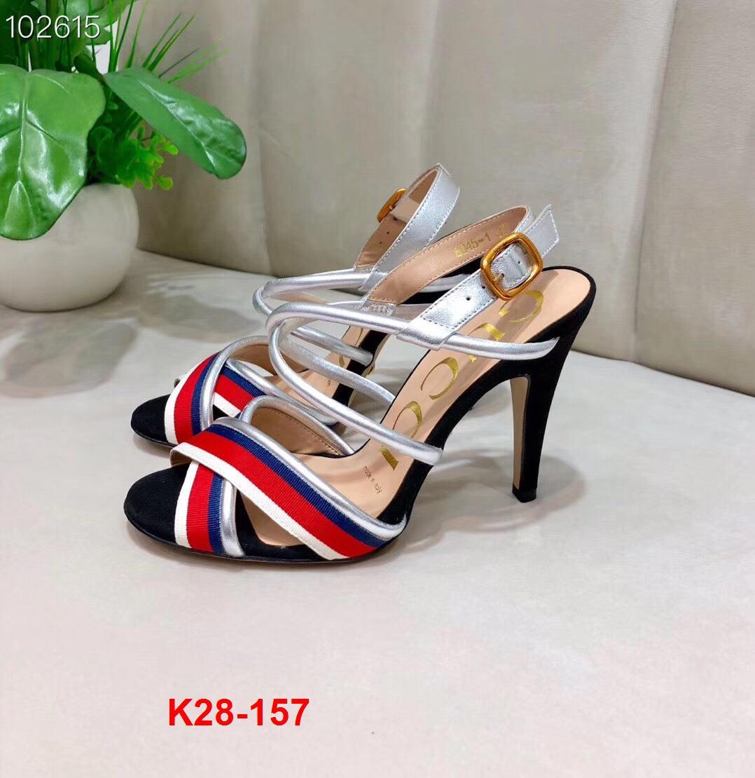 K28-157 Gucci sandal cao 9cm siêu cấp