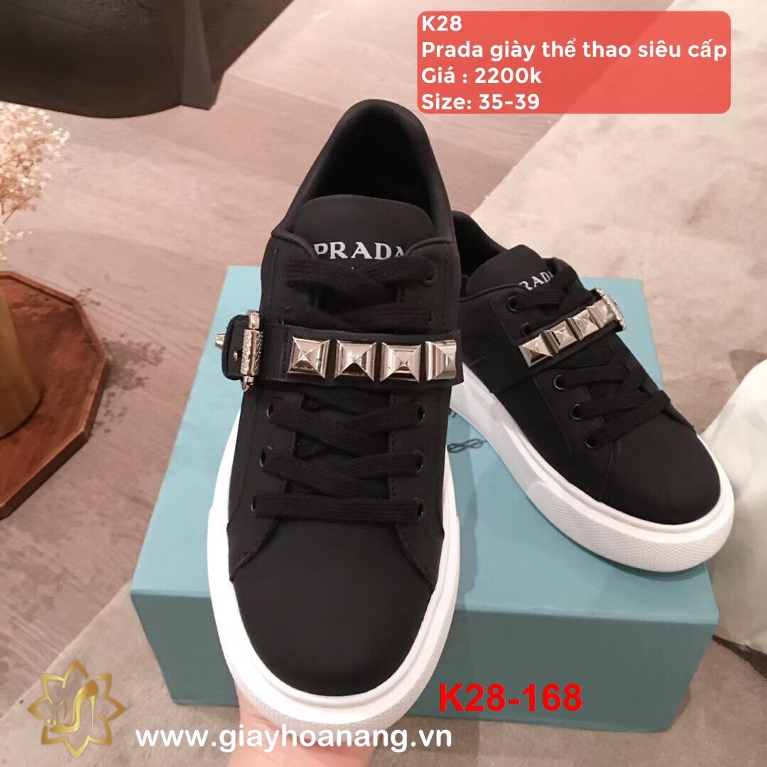 K28-168 Prada giày thể thao siêu cấp