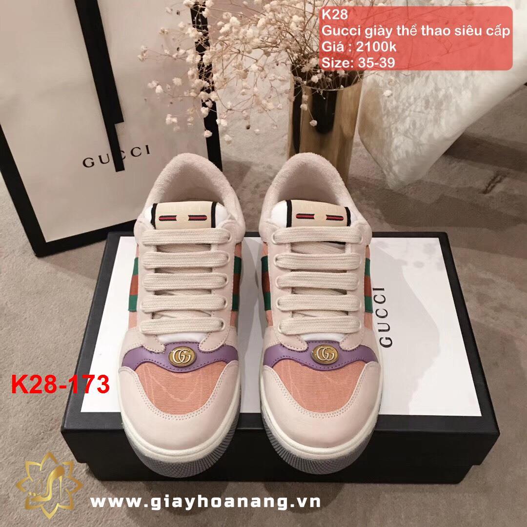 K28-173 Gucci giày thể thao siêu cấp