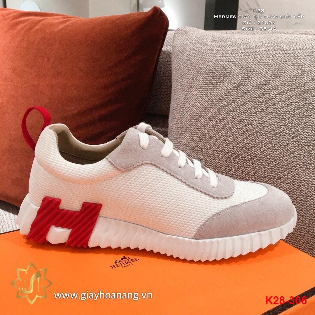 K28-306 Hermes giày thể thao siêu cấp