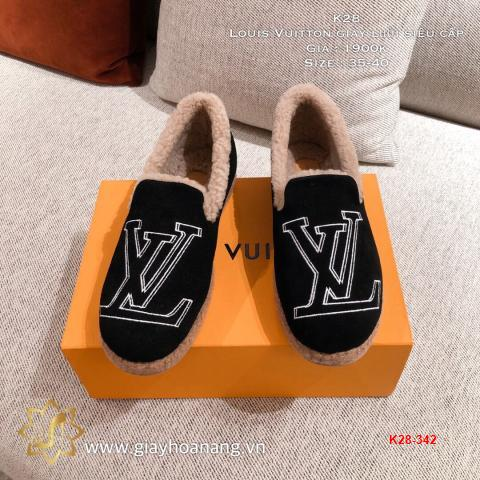 K28-342 Louis Vuitton giày lười siêu cấp
