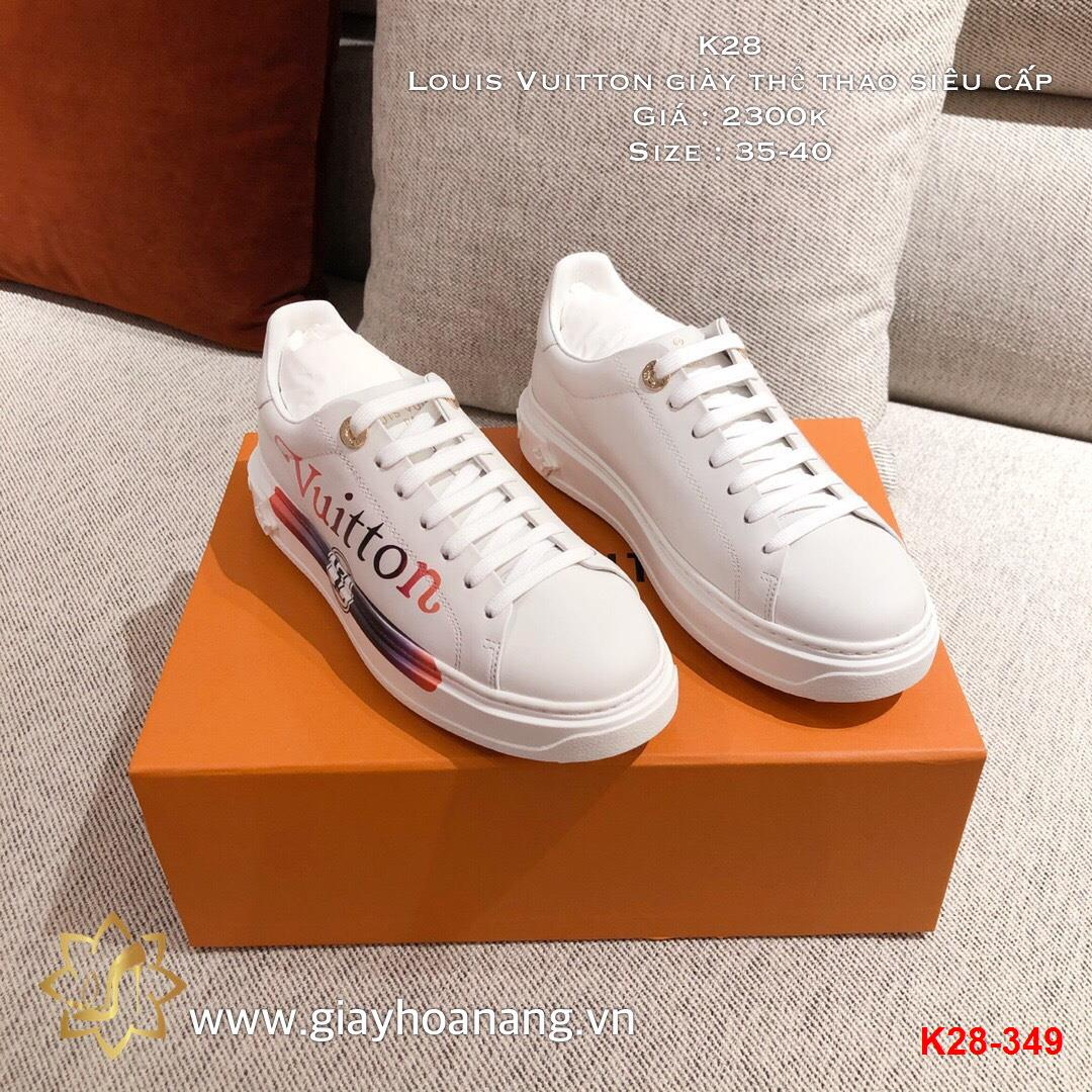 K28-349 Louis Vuitton giày thể thao siêu cấp