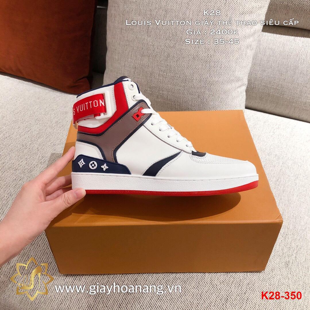 K28-350 Louis Vuitton giày thể thao siêu cấp