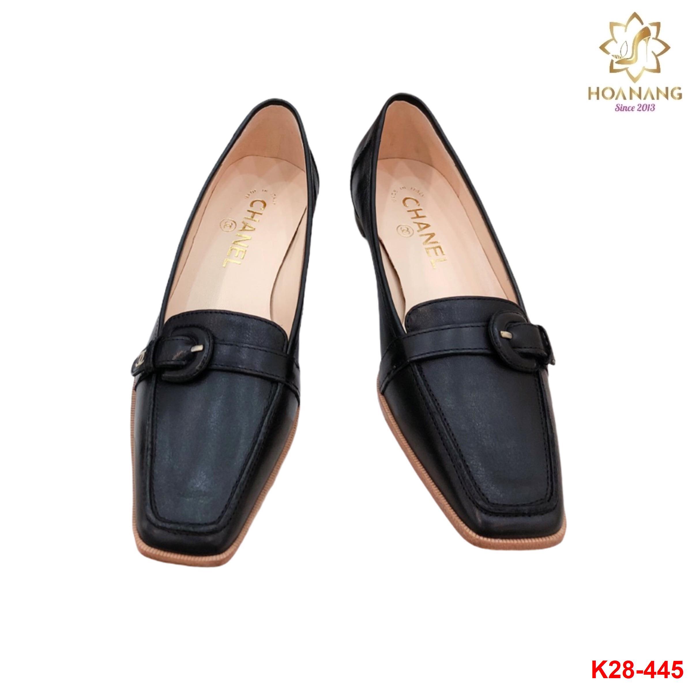 K28-445 Chanel giày lười siêu cấp