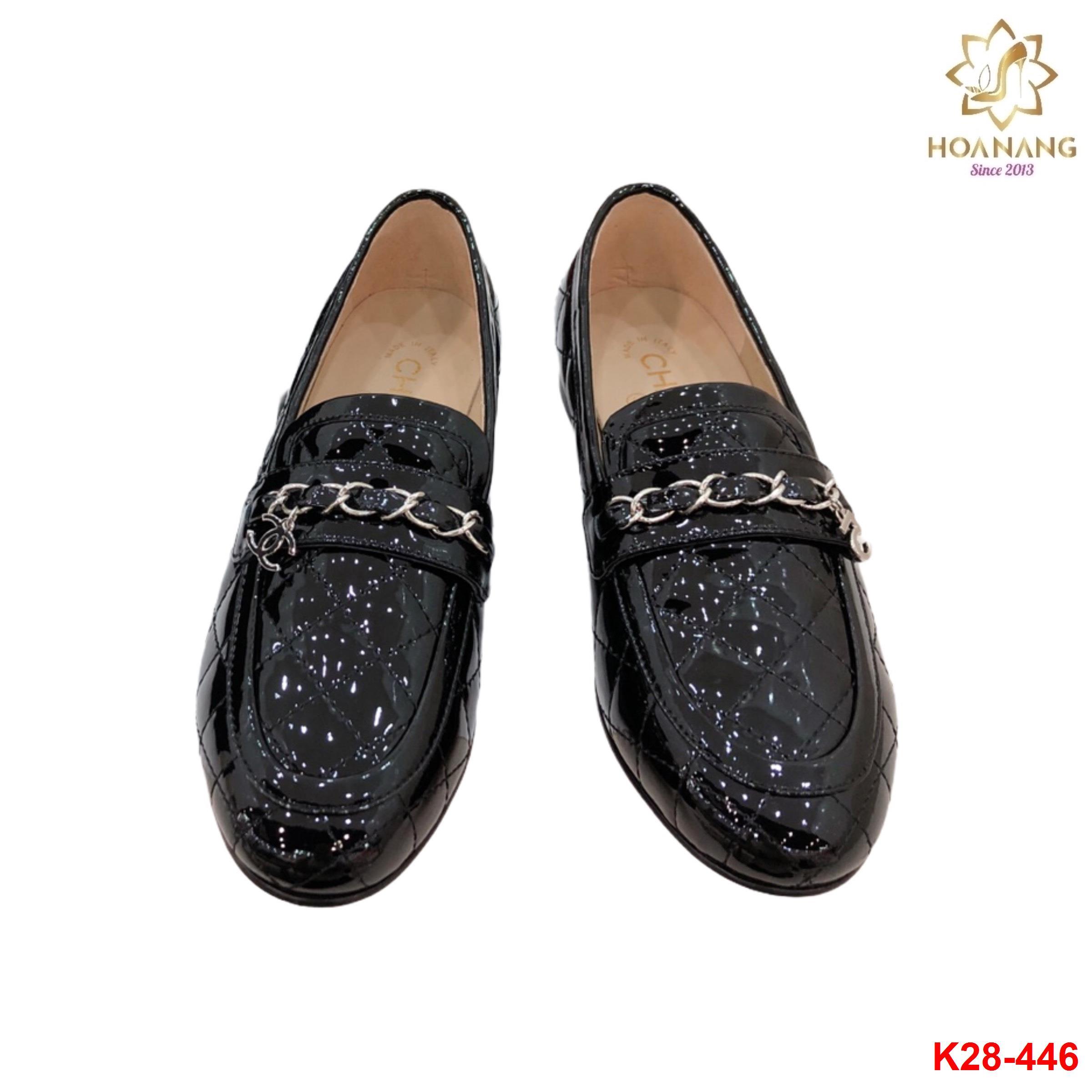 K28-446 Chanel giày lười siêu cấp