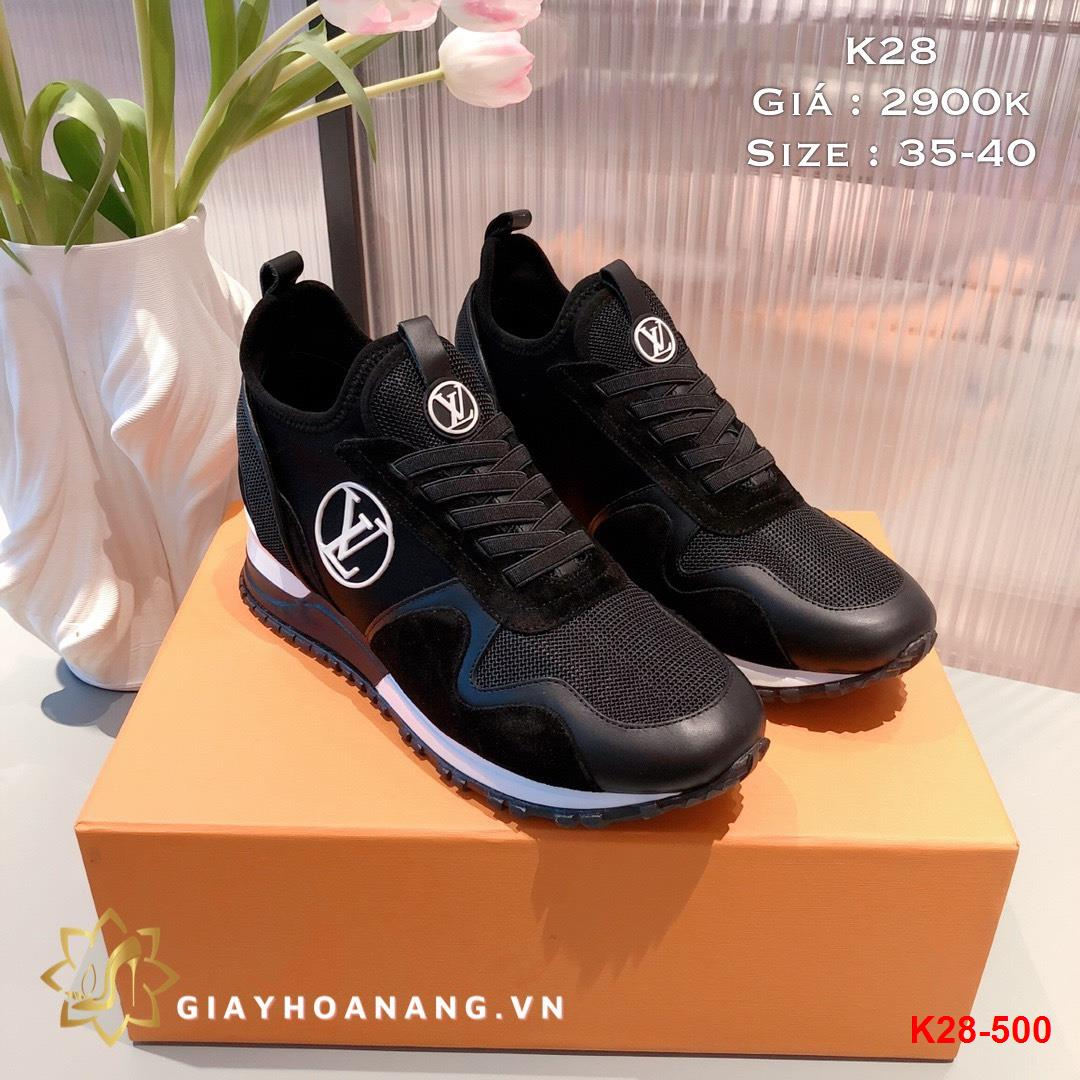 K28-500 Louis Vuitton giày thể thao siêu cấp